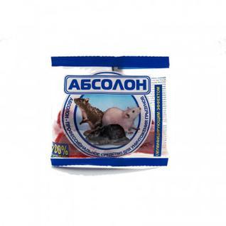 Средство от грызунов Абсолон тесто-брикеты 100г пакет АЛБТП100