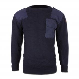 Made in Germany Пуловер, Бундесвер, цвет синий, б/у