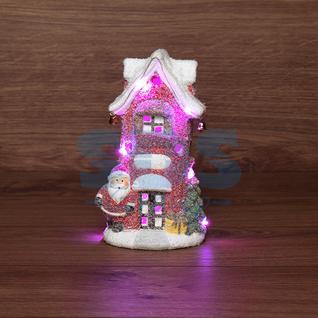 Neon-Night Керамическая фигурка «Красный домик» 11.5х8.5х20.4 см