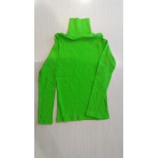 Челеби Текстиль Водолазка детская лапша, цвет салатный, рост 152