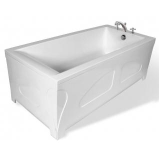 Отдельно стоящая ванна Эстет Дельта 170x80 белая