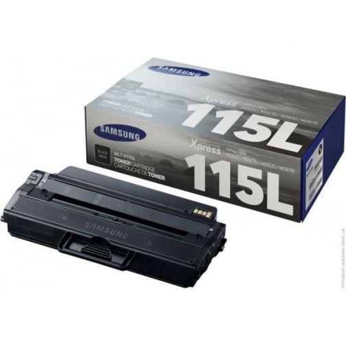 Картридж Samsung MLT-D115L оригинальный для Samsung XPRESS M2620, XPRESS M2820, XPRESS M2830, XPRESS M2670, XPRESS M2870, XPRESS M2880 ,3000 стр. ( черный) 7488-01 851196