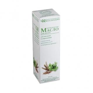 Масло для волос Питание и укрепление c комплексом витаминов А и Е и экстрактом крапивы