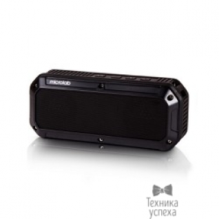 Microlab MICROLAB D861BT черная (6W RMS) Bluetooth, IPX5