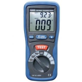 Цифровой мегаомметр CEM DT-5500