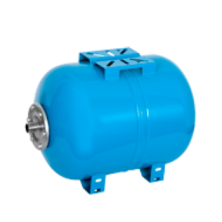 Мембранный бак для водоснабжения горизонтальный Wester WAO 100