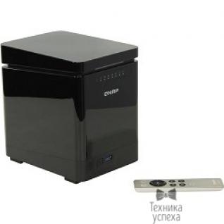 Qnap QNAP TS-453mini-2G Сетевой RAID-накопитель,4 отсека для жест. дисков, HDMI-порт. Четырехъядерный Int