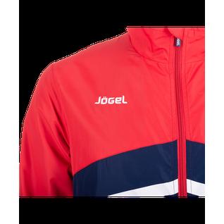 Костюм парадный детский Jögel Js-4401-921, полиэстер, темно-синий/красный/белый размер YM