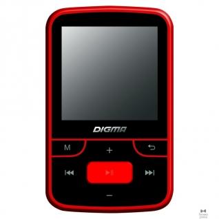 "Digma Плеер Flash Digma T3 8Gb черный/красный/1.5""/FM/microSD 489487"