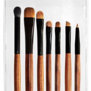 Профессиональные кисти для макияжа - Набор JEANS из 7 кистей для макияжа глаз 7-02