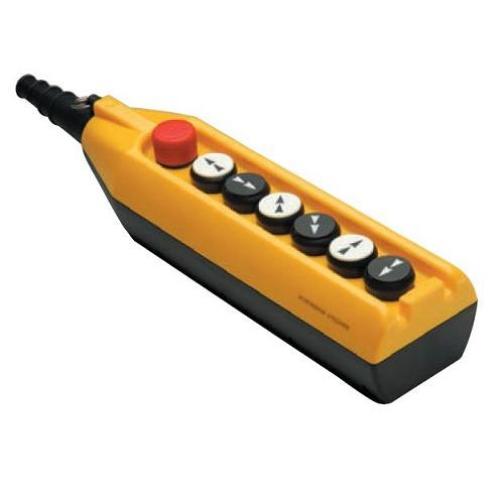 Пульт управления PV7E30B22A20 Пост управления кранами, кран-балкой, тельефами c ключ-маркой(0-I) семикнопочный EMAS 899582