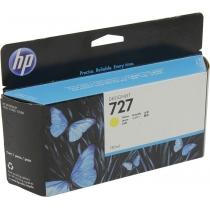 Оригинальный картридж B3P21A №727 для принтеров HP Designjet T1500/T2500/T920, жёлтый, струйный, 130 мл 8629-01 Hewlett-Packard