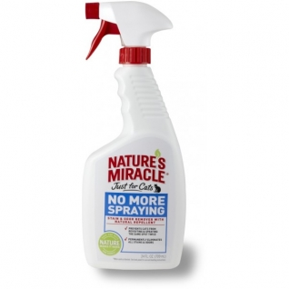 8in1 8in1 средство-антигадин для кошек NM JFC No More Spraying спрей 710 мл