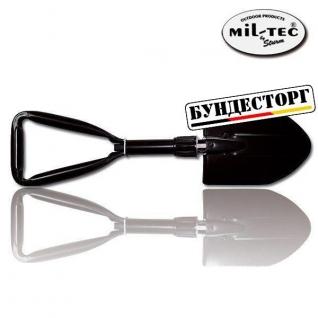 Mil-Tec Лопата 3-секционная, цвет черный