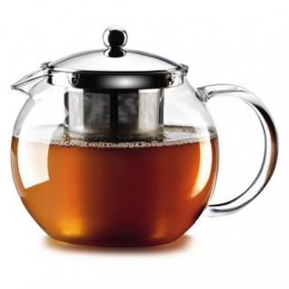 Стеклянный заварной чайник 1,3 л - 7 порций