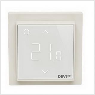 Терморегулятор Devi Devireg Smart интеллектуальный с Wi-Fi, 16 А (белый)