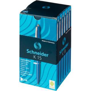 Ручка шариковая SCHNEIDER K15 корпус синий/стержень синий 0,5мм Германия