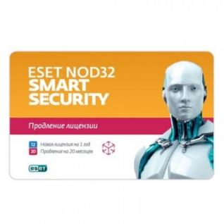 Антивирус ESET(NOD32-ESS-2012RN(CARD)-1-1) Smart Sec 3ПК/1г или продл20 мес