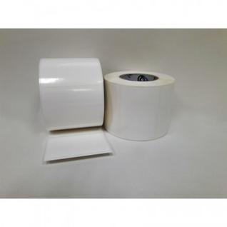 Термотрансферные этикетки полипропилен 58х40мм,700 этикеток в рул.60 рул/уп