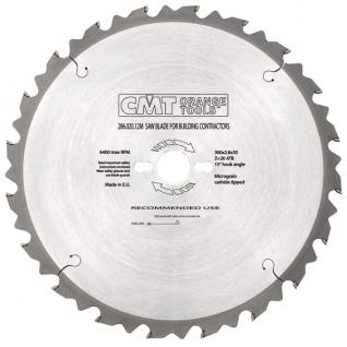 Пильный диск CMT строительные для пиления древесины с гвоздями 450x30x3,8/2,8 15° 5° ATB Z=32 286.032.18M