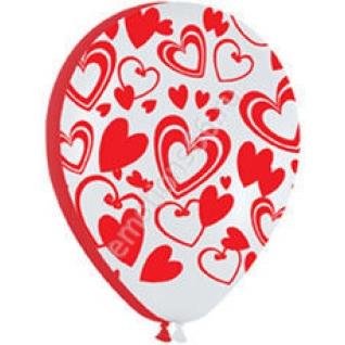 Кокетливые сердечки