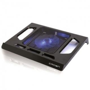 Подставка для ноутбука Crown, охлажд, до 15.6 дюйм, 1 вент, черн,CMLS-910