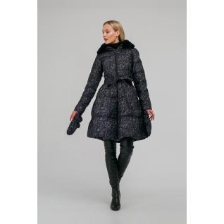 Пальто ODRI MIO 18310141-1 Пальто ODRI MIO PRINT FLOCK (черный)
