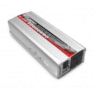 Преобразователь напряжения автомобильный AVS IN-1500W-24 (24В > 220В, 1500 Вт, USB) AVS