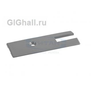 Комплект пласт. заглушки для профиля 76mm T-76 Z