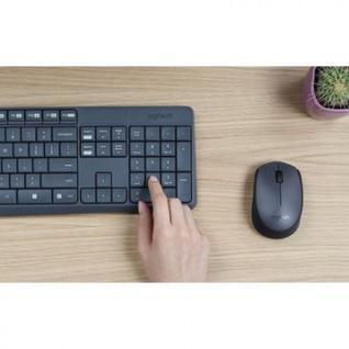 Набор клавиатура+мышь Logitech MK235 (920-007948) Wireless/Grey