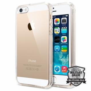 Чехол для iPhone SE / 5S/ 5 SGP Ultra Hybrid, цвет Crystal Clear (SGP10640)