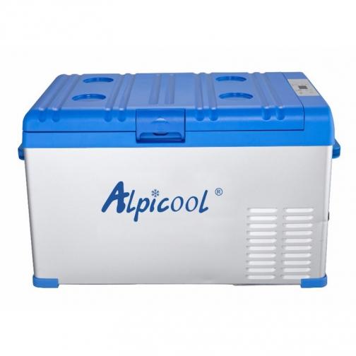 Kомпрессорный автохолодильник ALPICOOL A30 синий (30л, 12/24/220В) 36995010 2