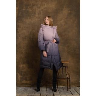Пальто ODRI 18210149 Пальто ODRI BLACK ROSE (черно-розовый)
