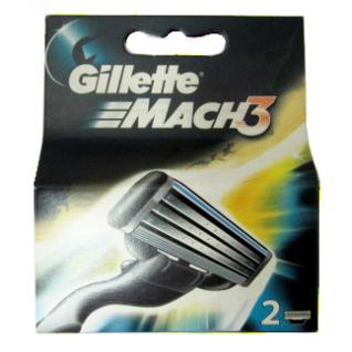 Gillette MACH 3  2 шт