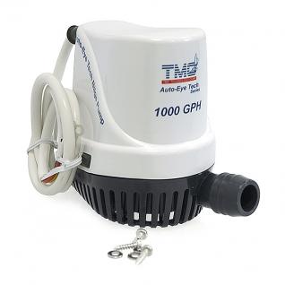 Помпа трюмная с датчиком TMC 1000GPH 58л/мин 24В (30610_24)