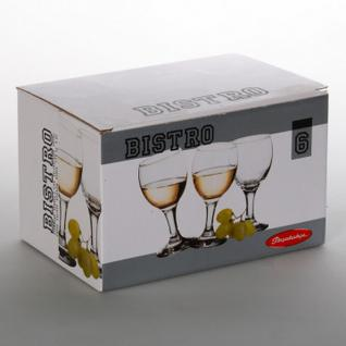 Набор фужеров (белое вино) БИСТРО 175мл 6шт/уп (44415B)