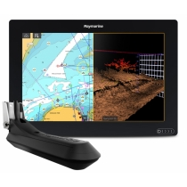 """Raymarine AXIOM 12 RV, Multi-function 12"""" Display with integrated RealVision 3D, 600W Sonar with RV-100 transducer Raymarine"""
