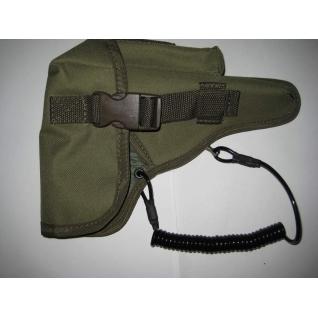 Пистолетный спиральный (витой) ремень безопасности(тренчик)