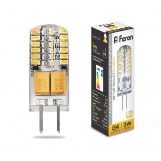 Светодиодная лампа Feron LB-422 (3W) 12V G4 2700K
