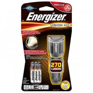 Фонарь ручной Energizer Metal Vision HD 3AAA