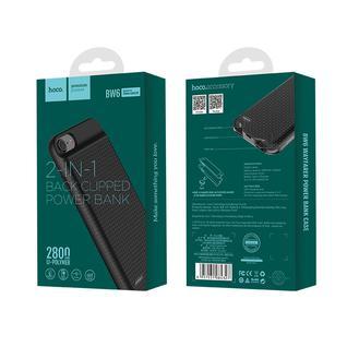Портативный аккумулятор-накладка для iPhone 6-6S-7-8 BW6