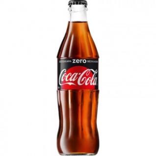 Напиток Coca-Cola Zero 0,33л газ. 12 шт/уп.