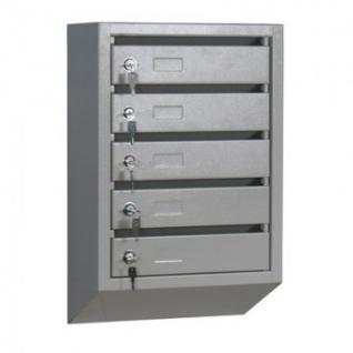 Ящик почтовый К_КП- 5 секц. почтовый ящик 380x190x590