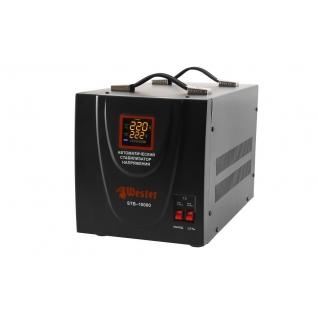 Стабилизатор напряжения WESTER STB-10000 однофазный, цифровой 220В ...