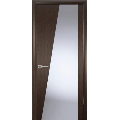 Дверь ульяновская шпонированная Орион со стеклом триплекс 49374 2