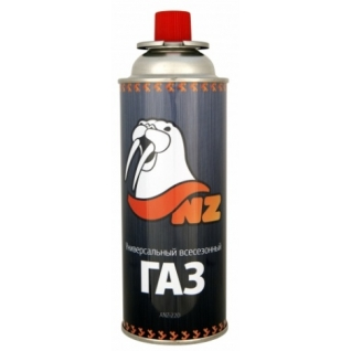 Баллон газовый цанговый NZ 220 Lite изобутан/пропан/бутан 85/5/10 (ANZ-220)