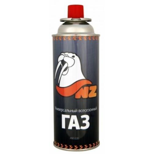 Баллон газовый цанговый NZ 220 Lite изобутан/пропан/бутан 85/5/10 (ANZ-220) 36971661