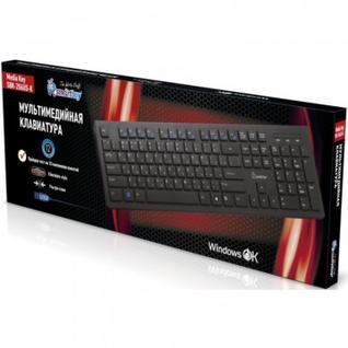 Клавиатура Smartbuy 206 USB черная (SBK-206US-K)