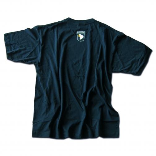 Mil-Tec Футболка 101st Airborne Division, цвет черный 5025931 1