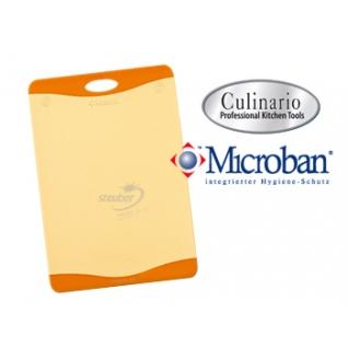 Кухонные разделочные доски Steuber GmbH Разделочная доска с антибактериальной защитой Microban® Оранжевая NW-CBS-O